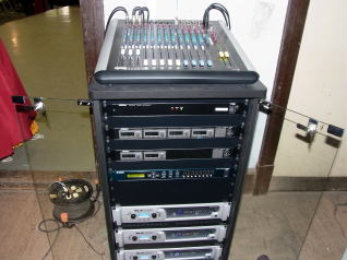 ダンススタジオ音響設備2