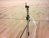 横田基地体育館音響性能測定1